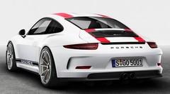 La Porsche 911 R visible sur un forum