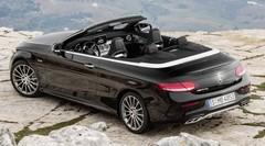 La Mercedes Classe C enlève le haut à Genève