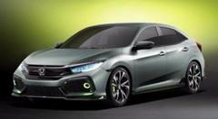 Honda Civic Hatchback Concept, la compacte future génération