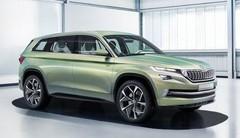Škoda VisionS : grand SUV en vue