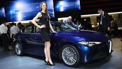 Alfa Romeo Giulia : la Giulia « normale » se montre à Genève 2016
