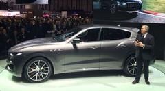 Maserati Levante, grande foule pour le premier SUV Maserati à Genève !