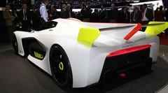 Pininfarina H2 Speed : La supercar à hydrogène au salon de Genève 2016