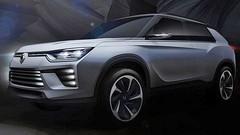 SsangYong : le Tivoli XLV et un concept hybride à Genève