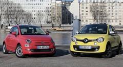 Essai Fiat 500 restylée vs Renault Twingo : duel de séductrice