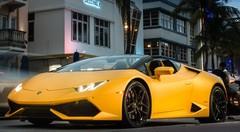 Essai Lamborghini Huracan LP 610-4 Spyder : La nuit américaine