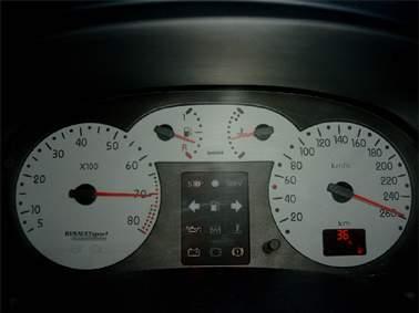 Vitesse compteur et vitesse réelle