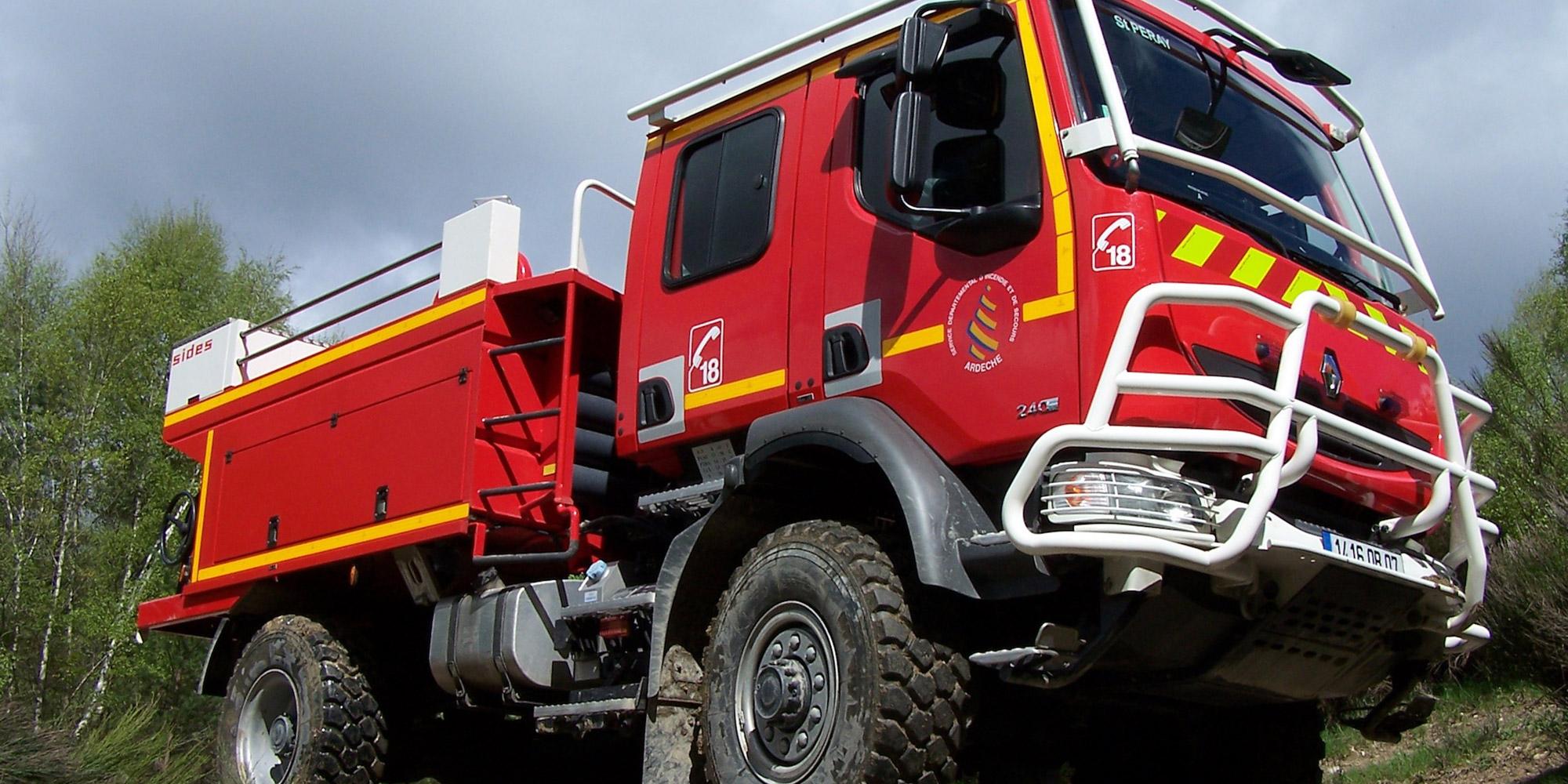 Sapeurs pompiers auto titre - Image camion pompier ...