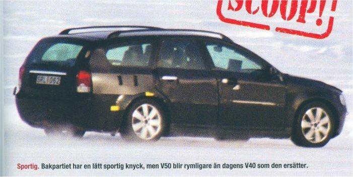 photos volvo v50 spy auto titre. Black Bedroom Furniture Sets. Home Design Ideas