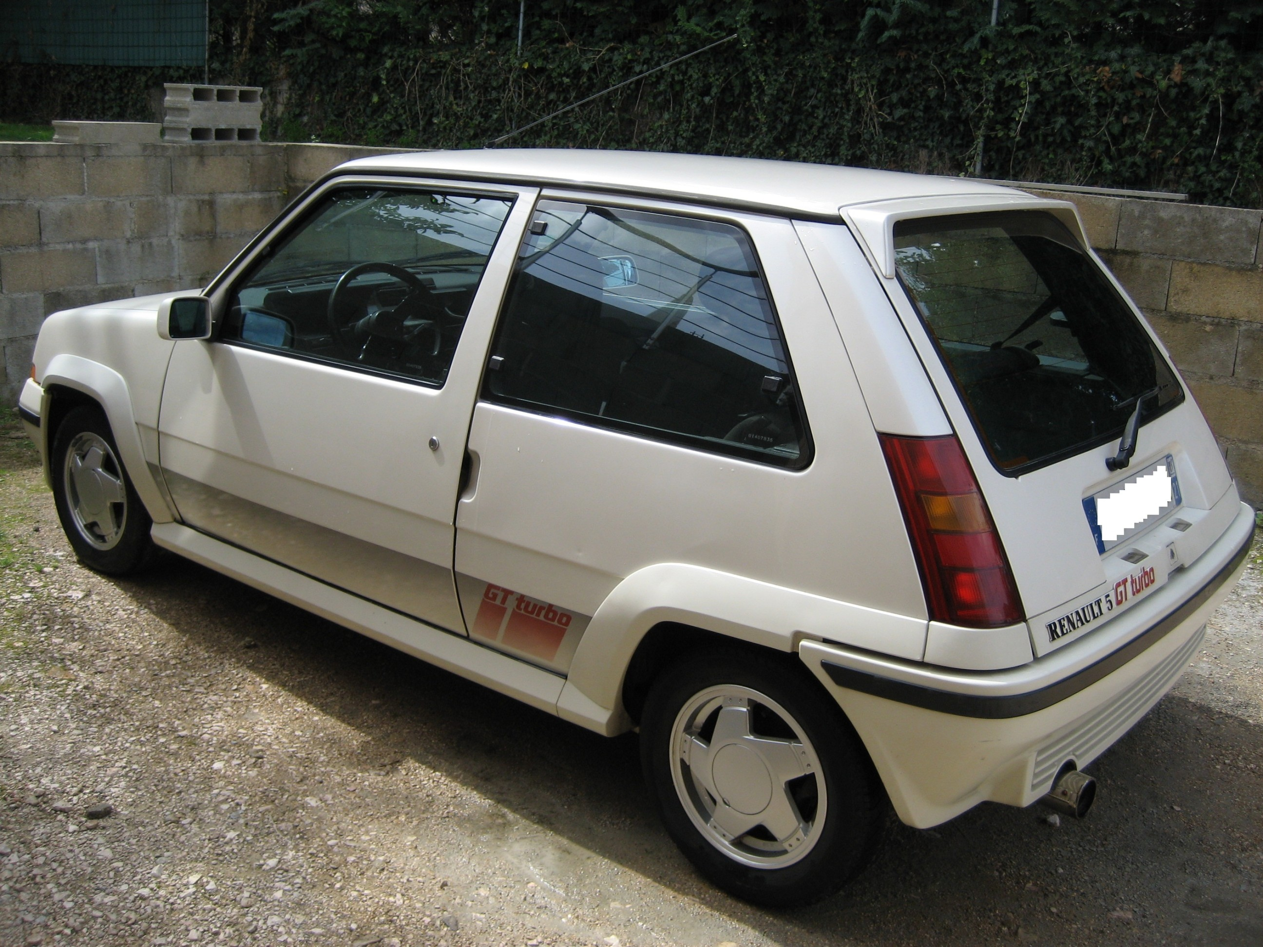 fiche technique renault super 5 gt turbo 1988 1991 auto