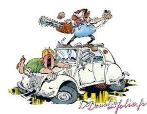 Le paris dakar des autos d 39 exception de leur cr ation - Dessin 2cv humour ...