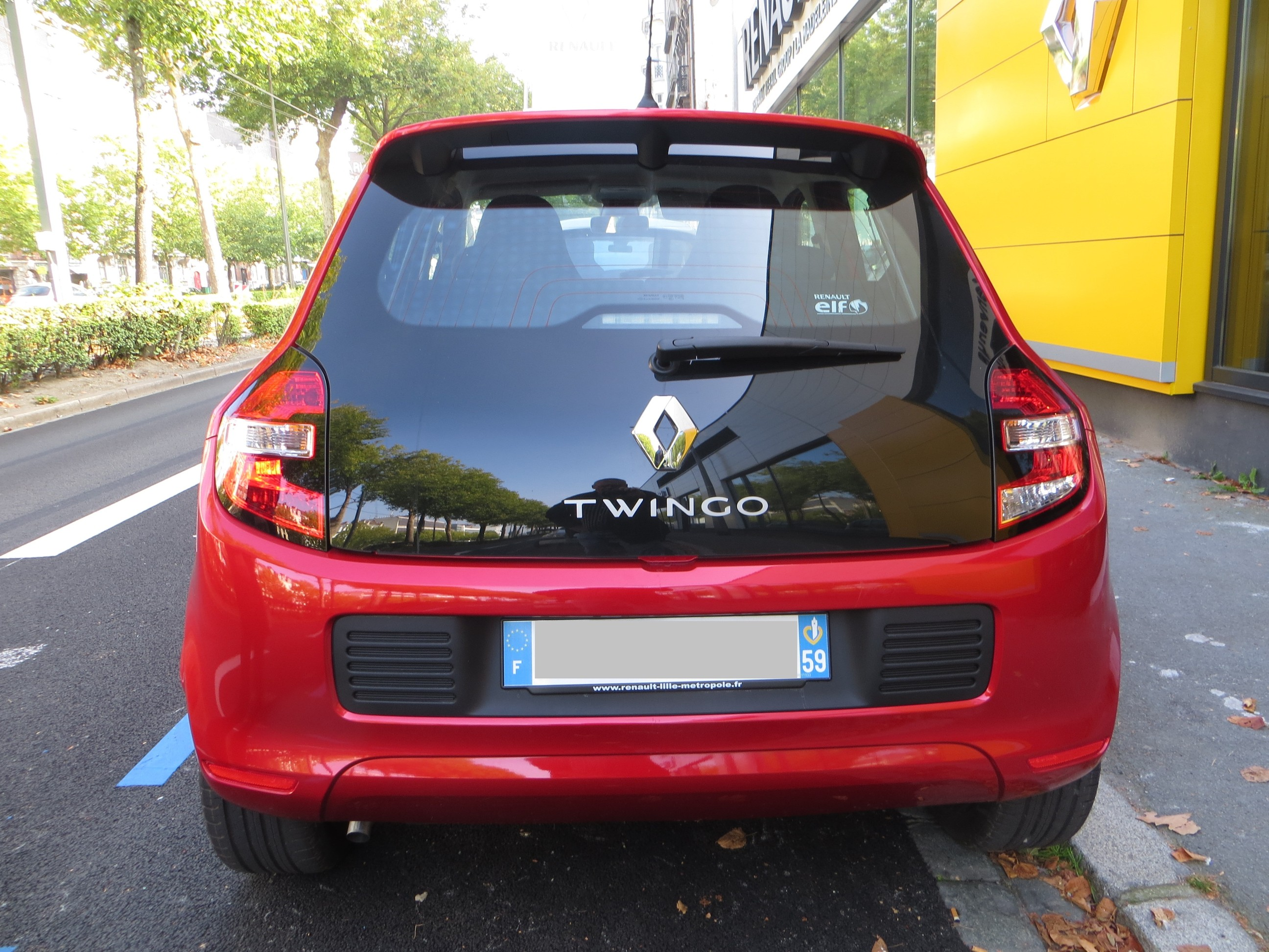 test drive rpt renault twingo iii intens sce 0 9 70ch bv5 5p 2014 auto titre. Black Bedroom Furniture Sets. Home Design Ideas