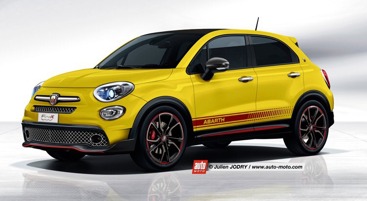 fiat 500 x abarth auto titre. Black Bedroom Furniture Sets. Home Design Ideas