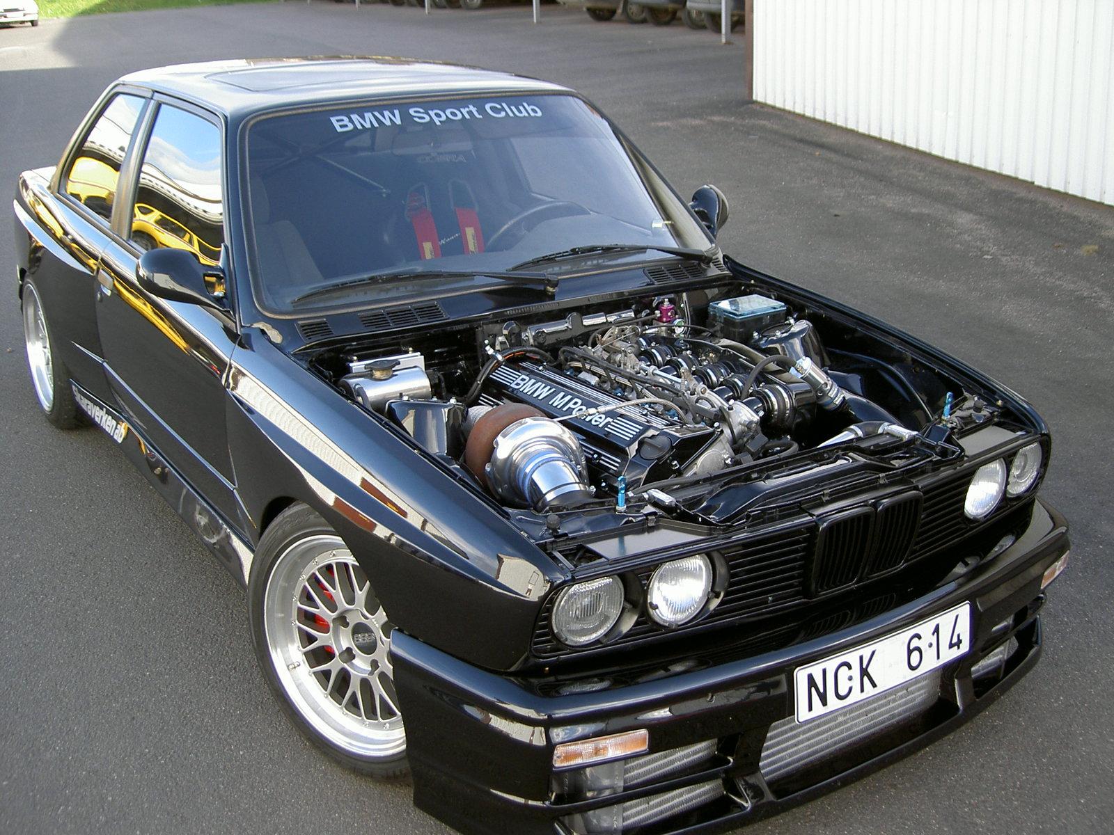 Turbo Pour Bmw 320i E30 « Heritage Malta