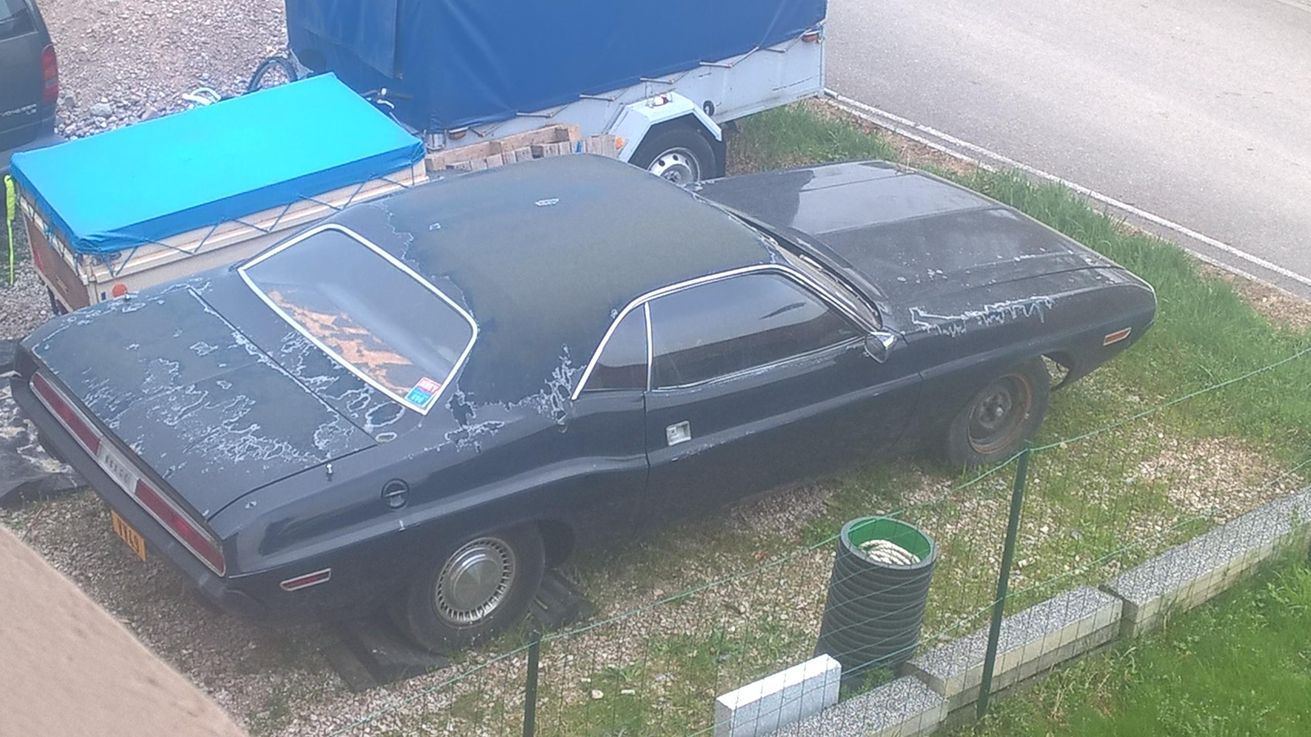 quel est le prix pour refaire une peinture compl te d 39 une dodge challenger 1970 auto titre. Black Bedroom Furniture Sets. Home Design Ideas