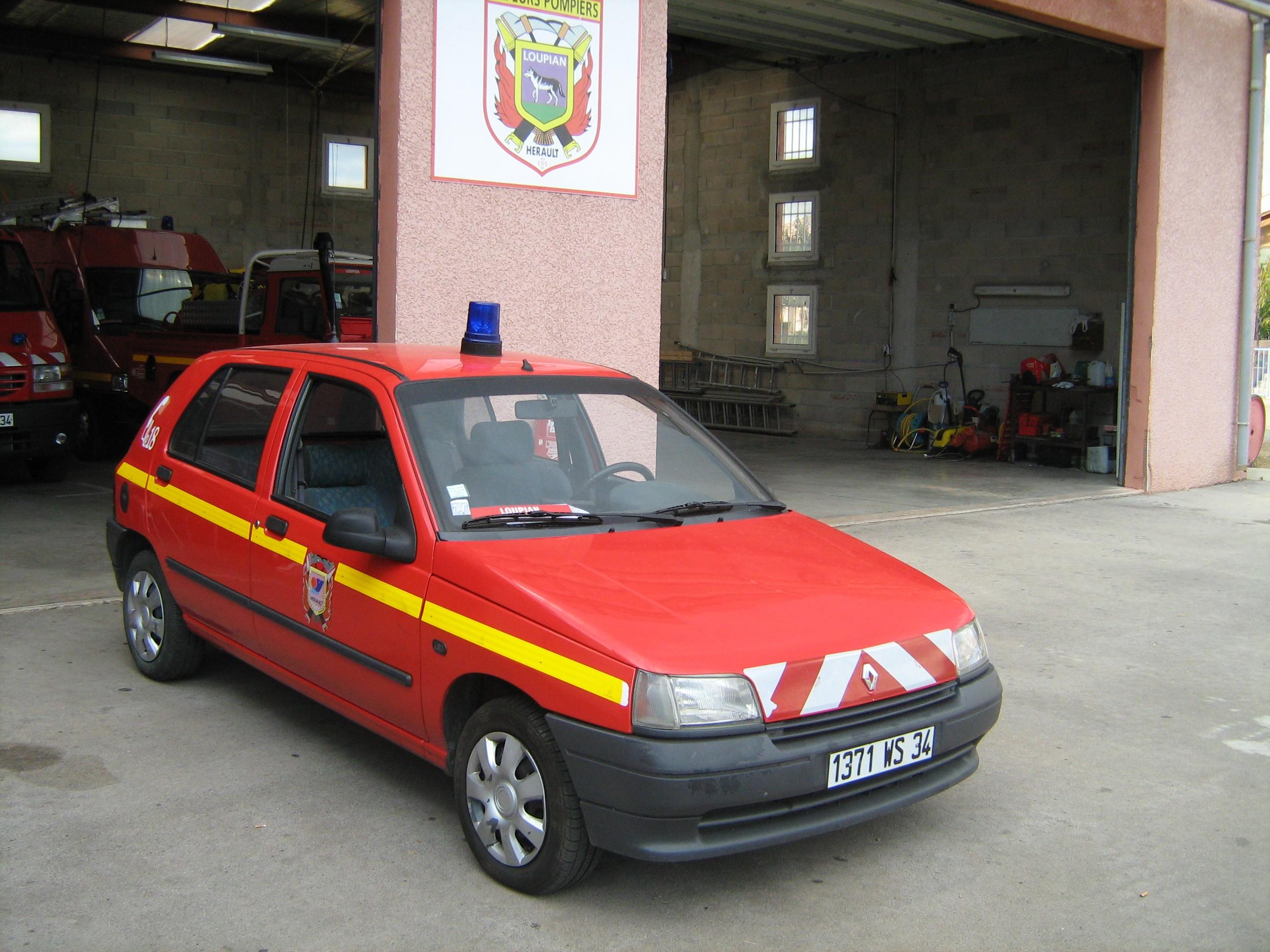 V hicules des pompiers fran ais page 281 auto titre for Garage bouzonville auto