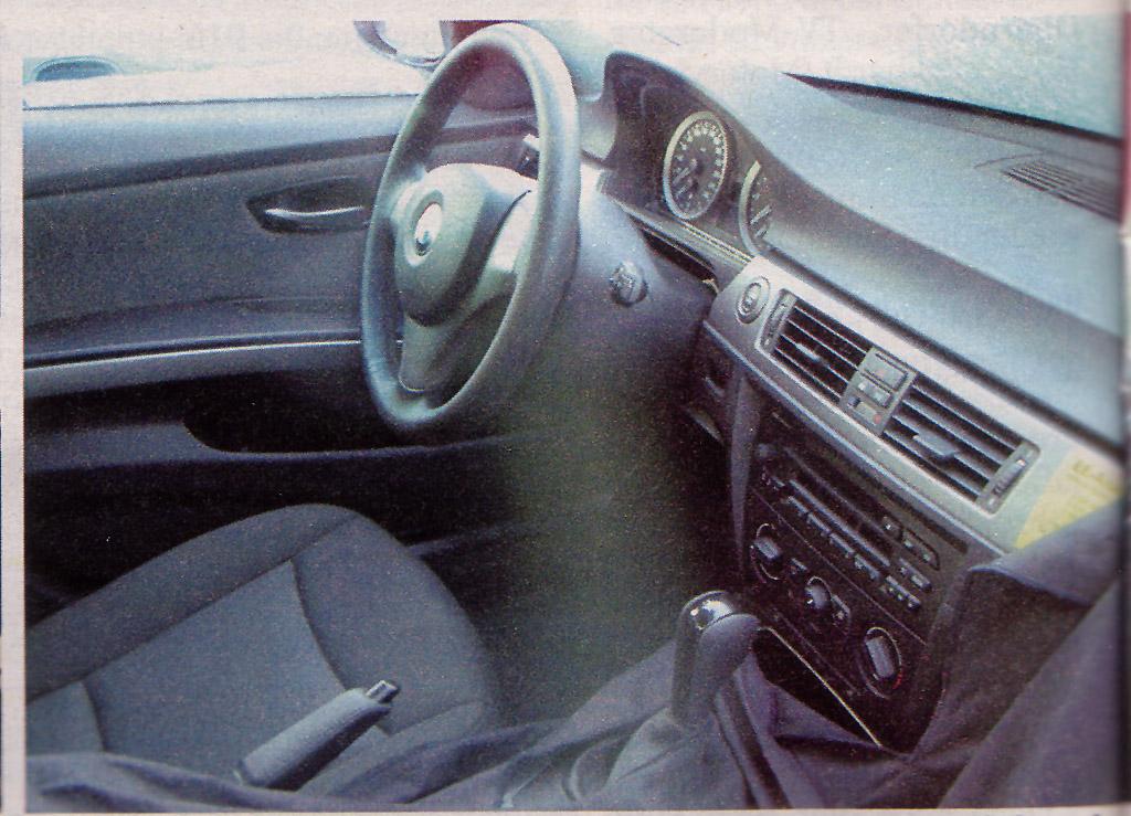 Premieres Photos Interieur Bmw Serie 3 E90 Spyshots Auto Titre
