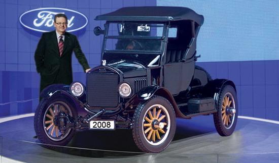 ford t 1oo ans d 39 automobile en 2oo8 une ford t 2oo8 pour r pondre la crise auto titre. Black Bedroom Furniture Sets. Home Design Ideas