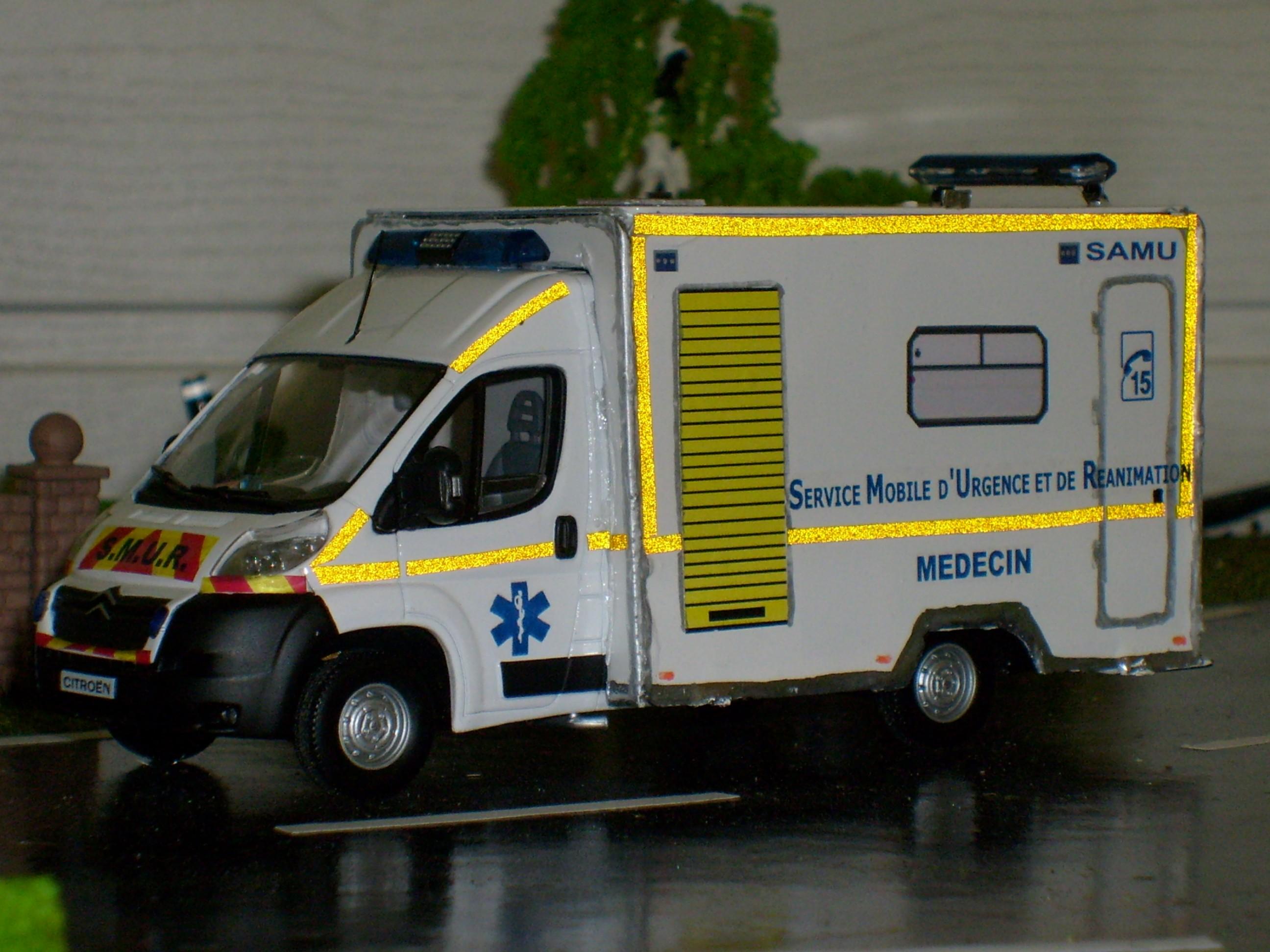Photos de miniatures de v hicules d 39 urgence page 229 - Playmobil samu ...