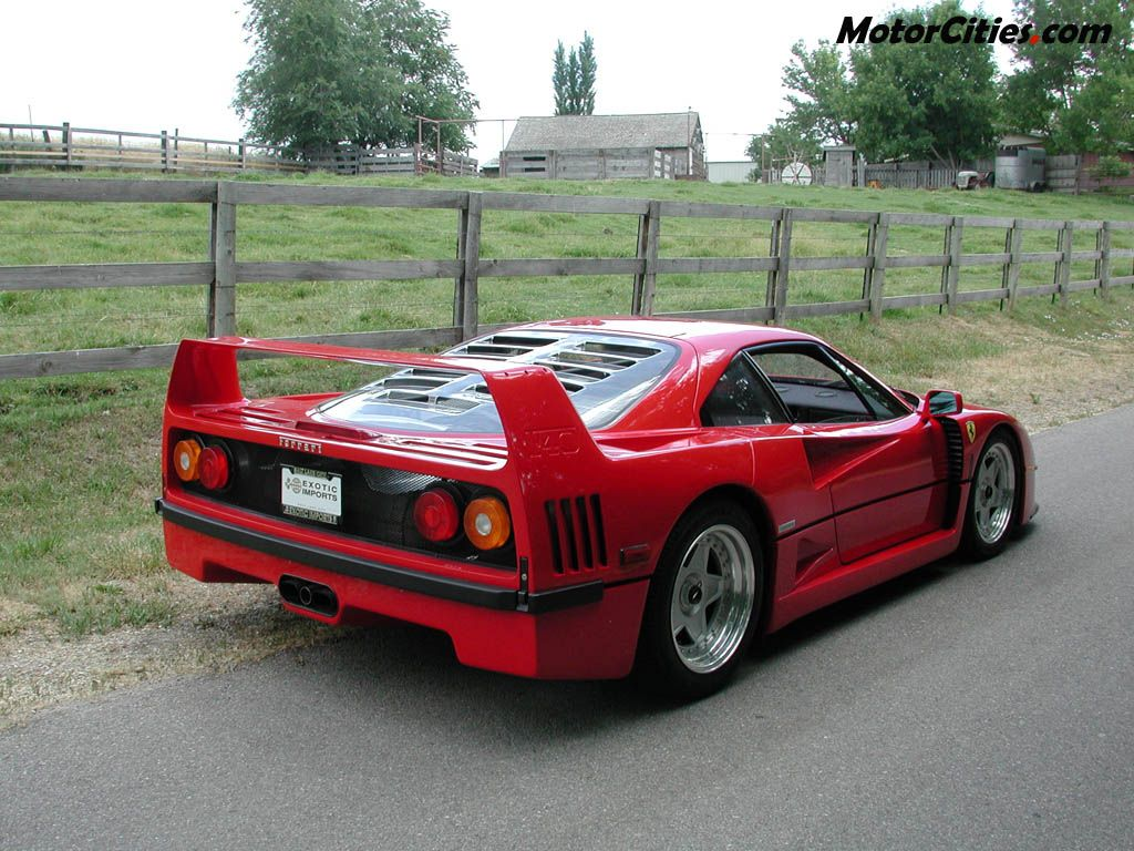 ferrari f40 auto titre. Black Bedroom Furniture Sets. Home Design Ideas