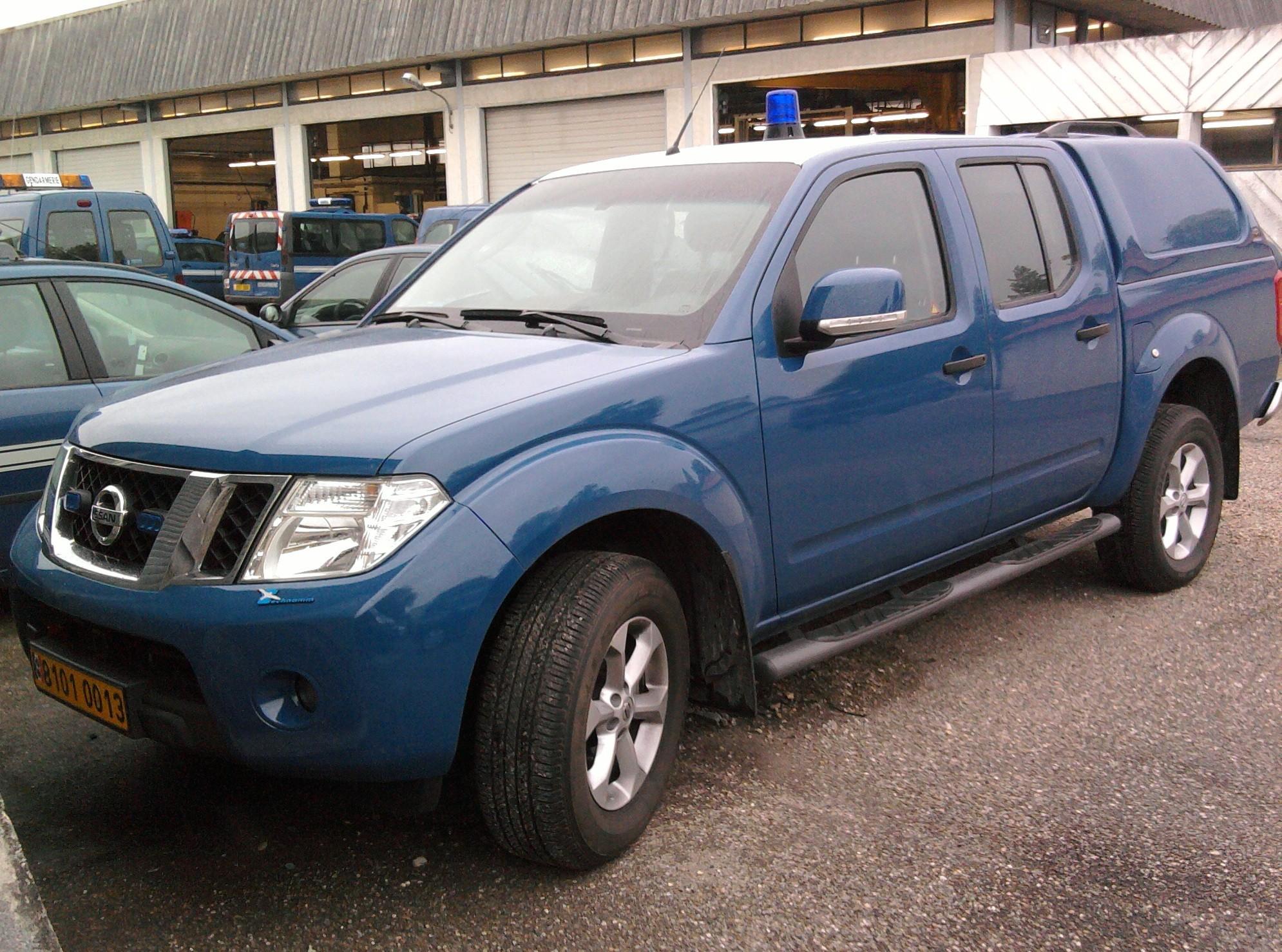 vehicule 4x4 gendarmerie