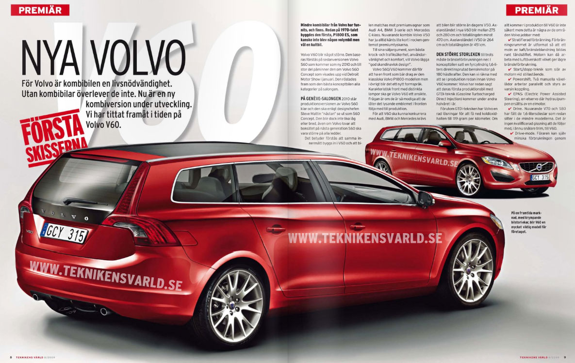 future volvo v60 2010 auto titre. Black Bedroom Furniture Sets. Home Design Ideas