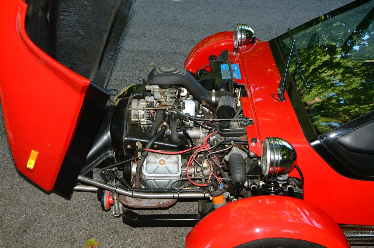 tricycle américain motorisé par un moteur de GSA C48138b9b3