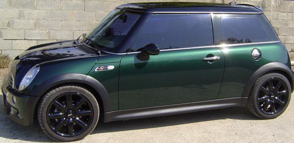 les couleurs mini depuis la r50 de 2001 auto titre. Black Bedroom Furniture Sets. Home Design Ideas
