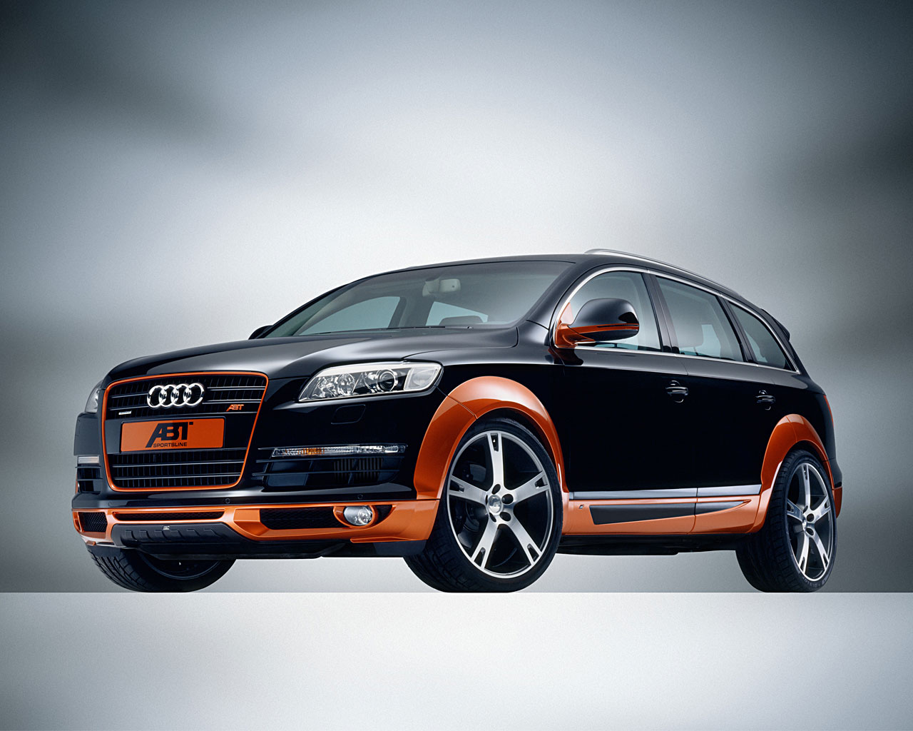 audi q7 abt sport s line tuning auto titre. Black Bedroom Furniture Sets. Home Design Ideas