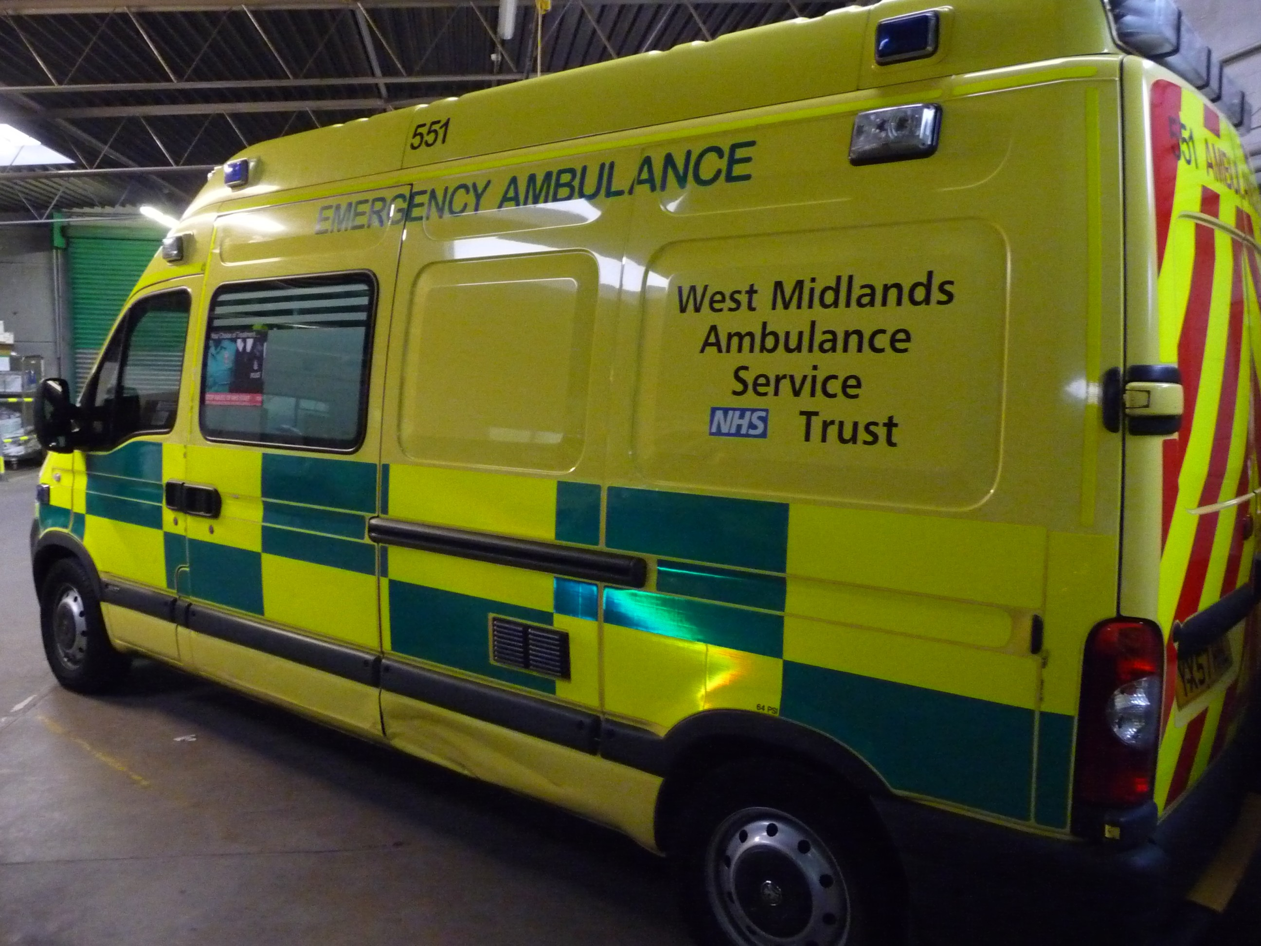Ambulance des West Midlands