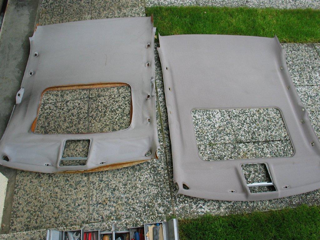 comment changer un ciel de toit auto titre. Black Bedroom Furniture Sets. Home Design Ideas