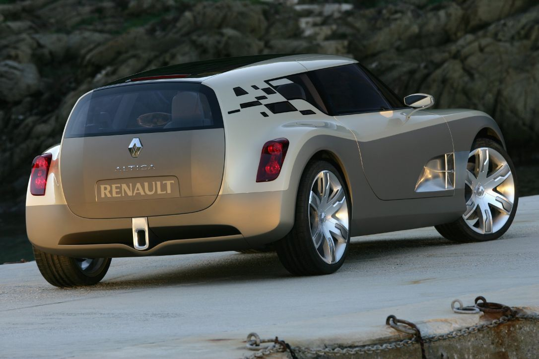concept car renault altica auto titre. Black Bedroom Furniture Sets. Home Design Ideas