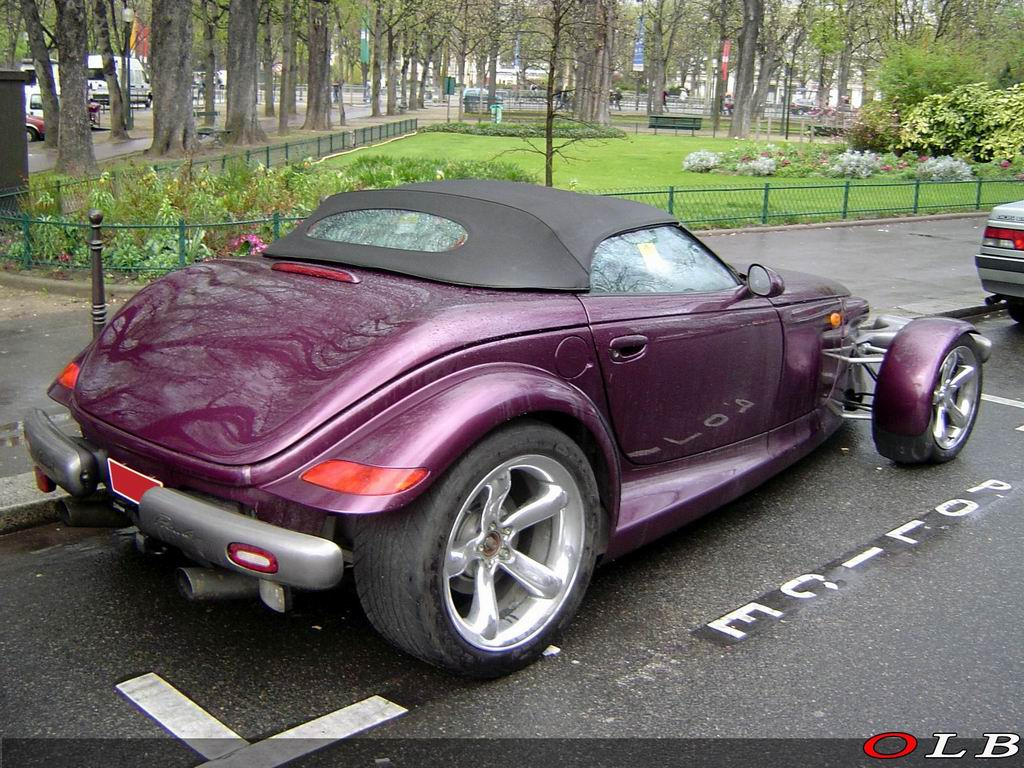homologuer un plymouth prowler auto titre. Black Bedroom Furniture Sets. Home Design Ideas