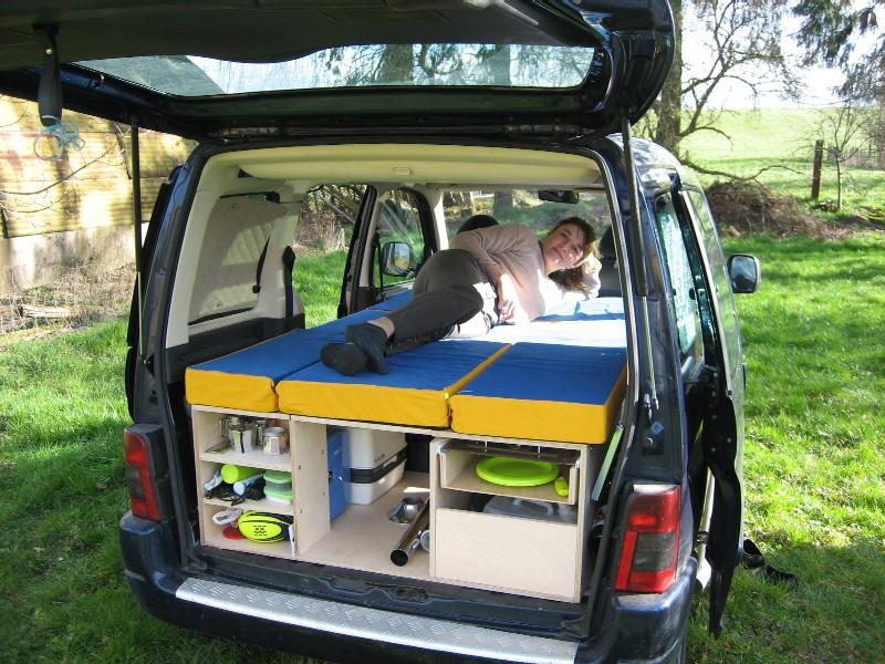 Citroen berlingo camper vans фото