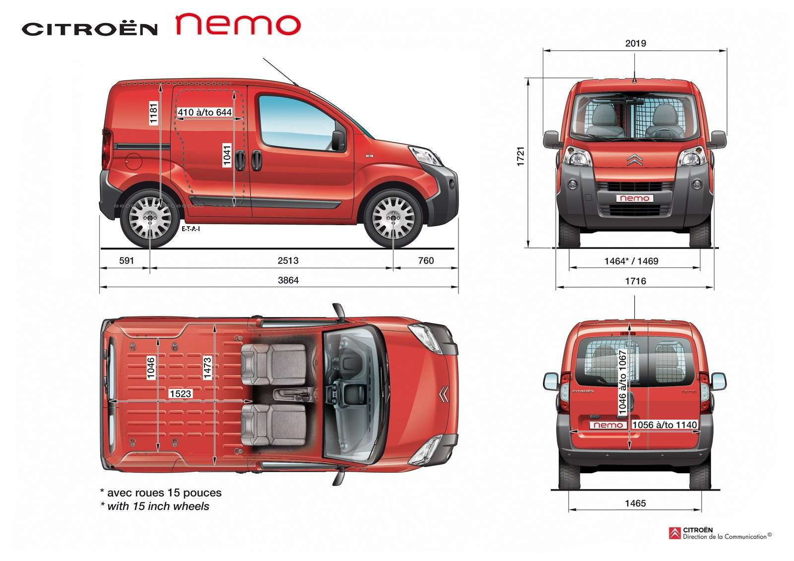 nouveaux fiat fiorino citro n nemo peugeot bipper page 2 auto titre. Black Bedroom Furniture Sets. Home Design Ideas