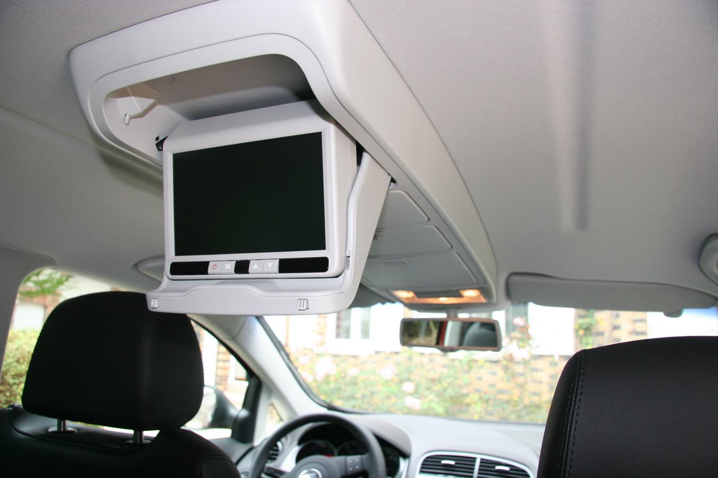 écran dvd pour passager arrière de voiture
