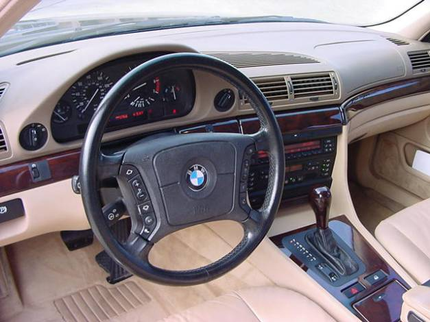 Achat serie 7 e38 photos page 36 page 64 auto titre for Bmw serie 9 interieur
