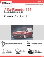 fiche technique alfa romeo 145 auto titre. Black Bedroom Furniture Sets. Home Design Ideas