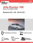 Revue Technique Alfa Romeo 166 essence