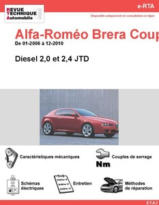 Revue Technique Alfa Romeo Brera diesel
