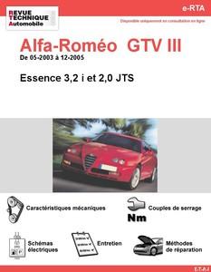 Revue Technique Alfa Romeo GTV