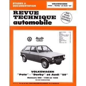 Revue Technique Audi 50 et Volswagen Polo