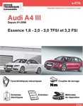 Revue Technique Audi A4 B8 essence