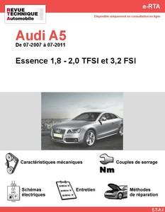 Revue Technique Audi A5 essence