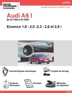 Revue Technique Audi A6 C4 essence