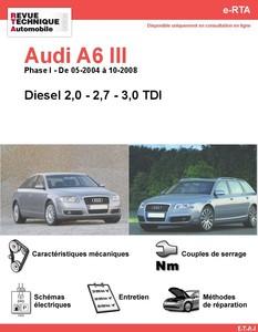 Revue Technique Audi A6 C6 diesel
