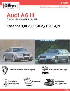 Revue Technique Audi A6 C6 essence