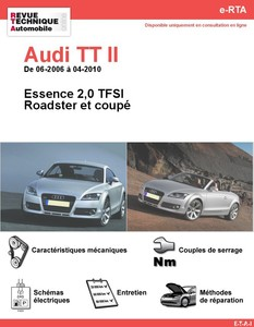 Revue Technique Audi TT 8J essence