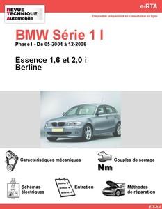 Revue Technique BMW Série 1 E87 essence