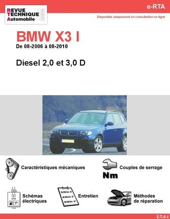 Revue Technique BMW X3 E83 diesel